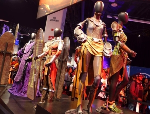 behind the thrills black panther costumes