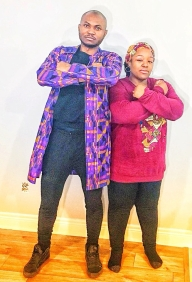 seun and channon before black panther